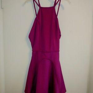 Nasty Gal Flare Mini Dress Size Small